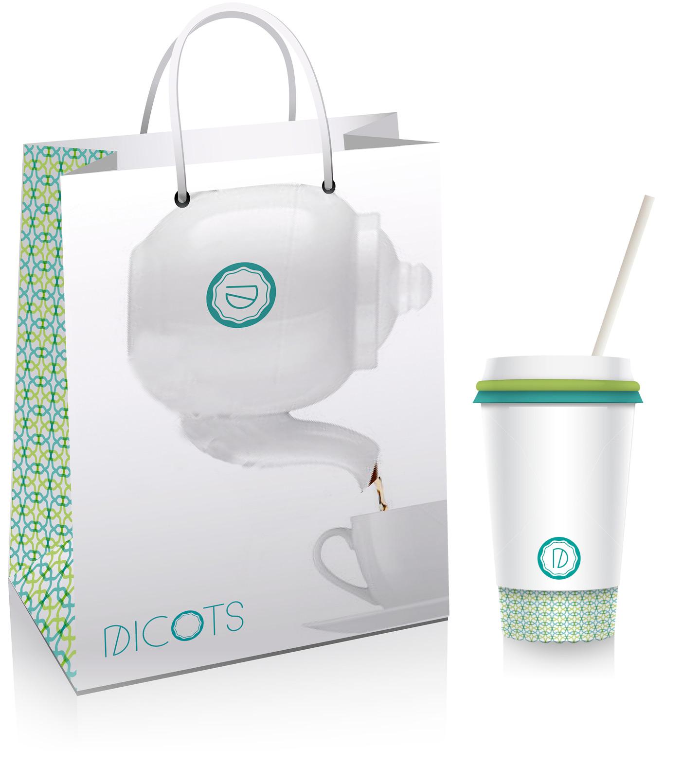 Dicots branding